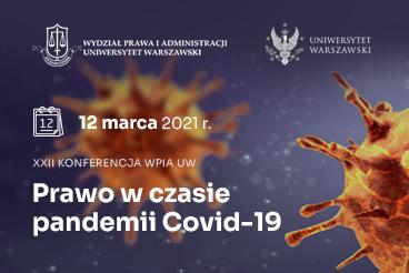 XXII Konferencja Wydziałowa - 12 marca 2021 r.