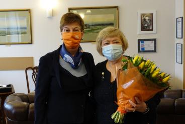 Prof. Małgorzata Gersdorf laureatką Medalu Gezów