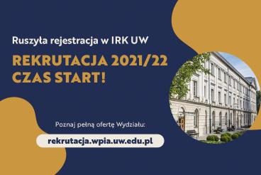 Rekrutacja 2021/22 czas start!
