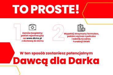 Pilnie poszukiwany dawca szpiku dla absolwenta naszego Wydziału, dr. Dariusza Szydełko